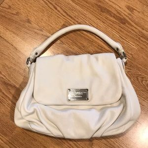 Marc Jacobs White Leather Purse